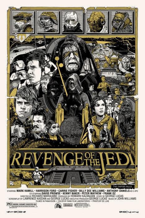 Revenge of the Jedi Tyler Stout poster