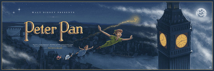 Peter Pan JC Richard poster