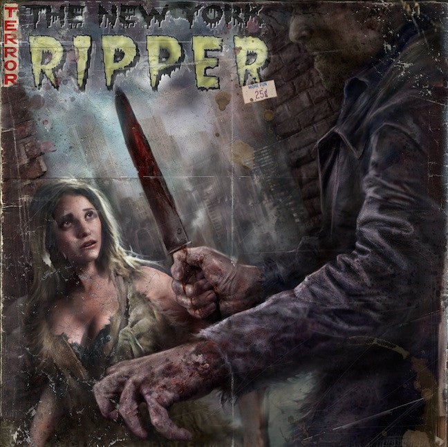 The New York Ripper Original Motion Picture Soundtrack LP