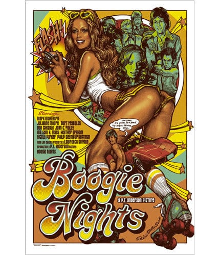 Boogie Nights Rockin Jelly Bean poster