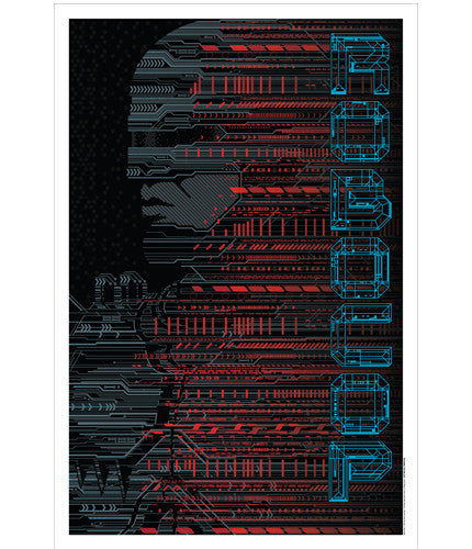 Robocop   Variant Todd Slater poster