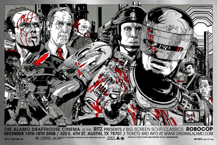 Robocop  Variant Tyler Stout poster