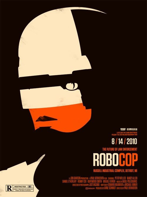 Robocop Olly Moss poster