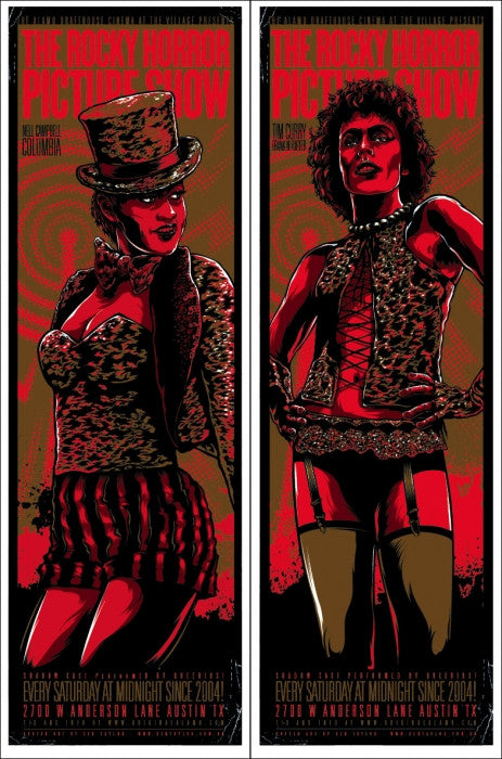 Rocky Horror Picture Show Ken Taylor poster