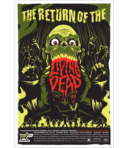 Return of the Living Dead Eric Tan poster