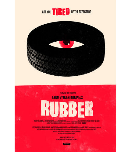 Rubber Olly Moss poster