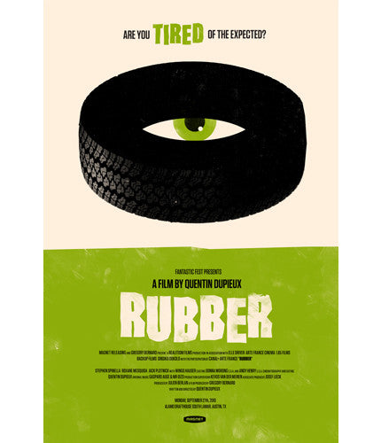 Rubber  Variant Olly Moss poster