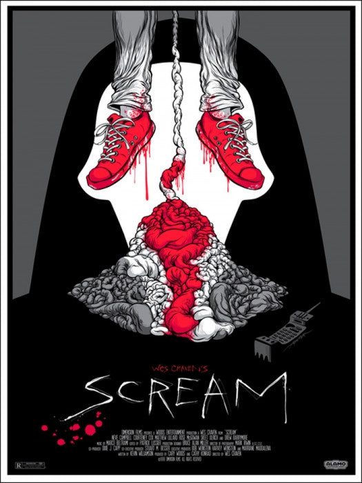 Scream Alex Pardee poster