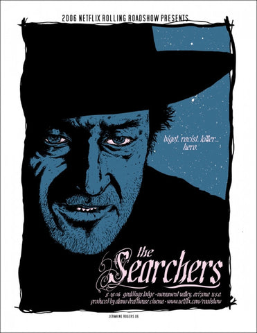 The Searchers  Variant Jermaine Rogers poster