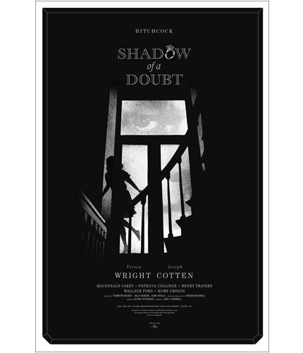 Shadow of a Doubt Alan Hynes poster