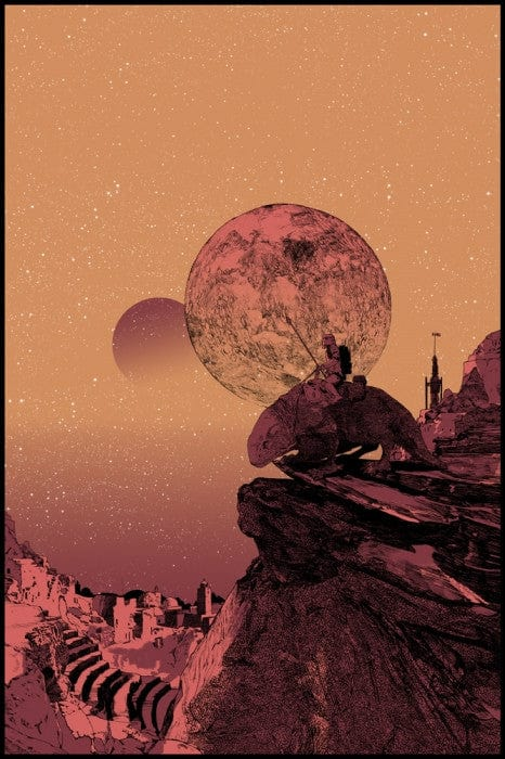 Dawn Of Tatooine Shan Jiang poster