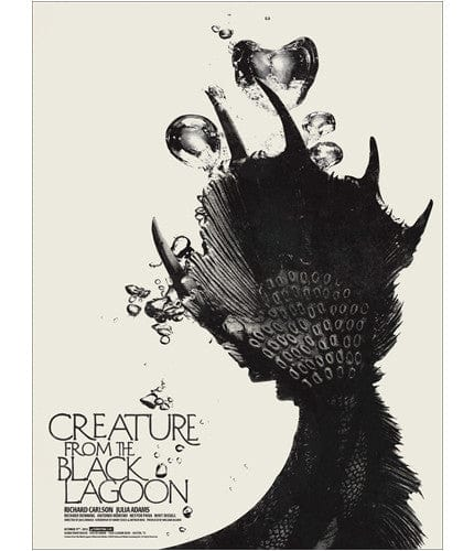 Creature from the Black Lagoon   Shaw Jay Shaw poster