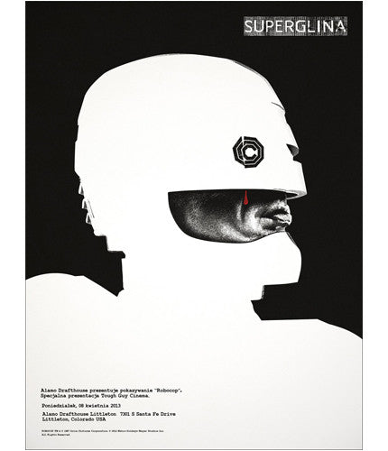 Robocop Jay Shaw poster