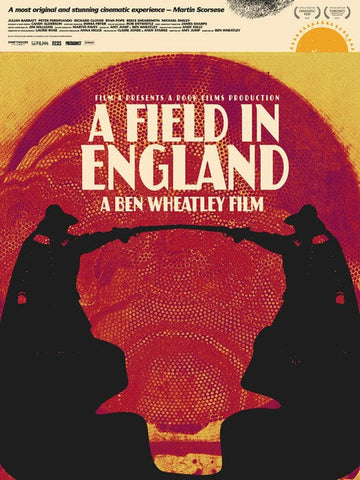 A Field in England Jay Shaw poster