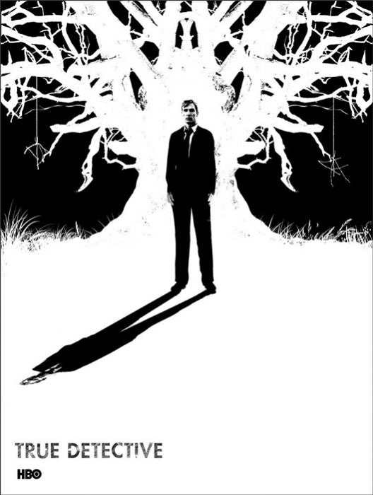 True Detective Detective Cohle Jay Shaw poster