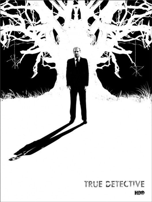 True Detective Detective Hart Jay Shaw poster