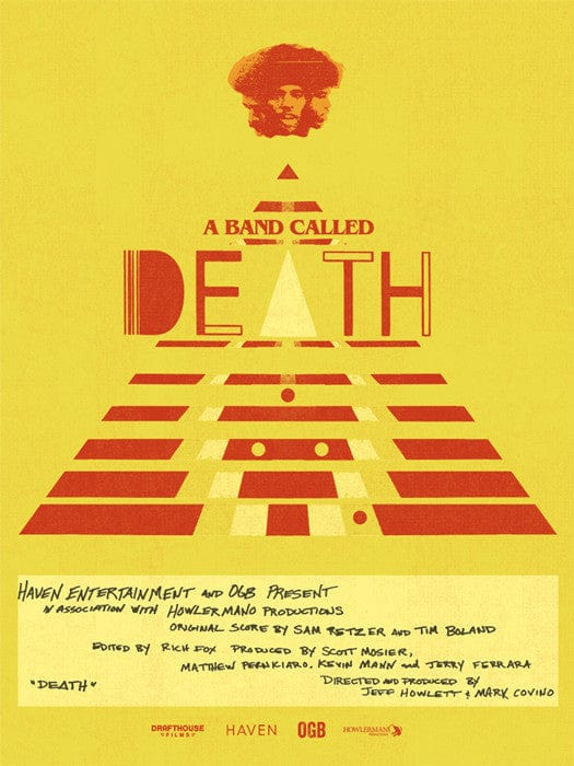 A Band Called Death Jay Shaw poster