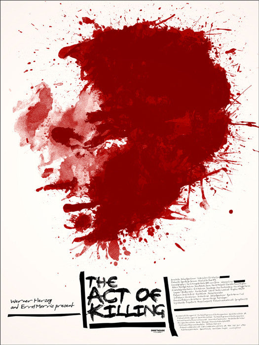 The Act of Killing Jay Shaw poster