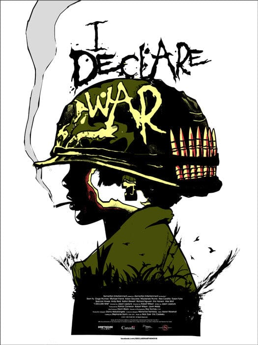I Declare War Jay Shaw poster