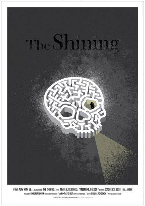The Shining Jeff Kleinsmith poster