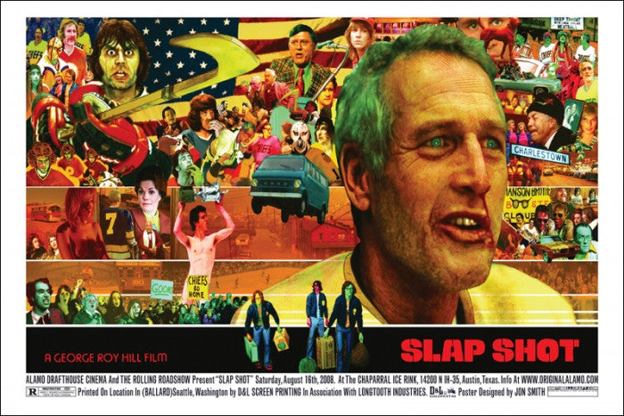 Slap Shot Jon Smith poster