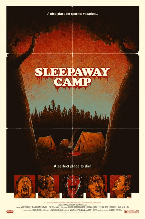 Sleepaway Camp Phantom City Creative poster