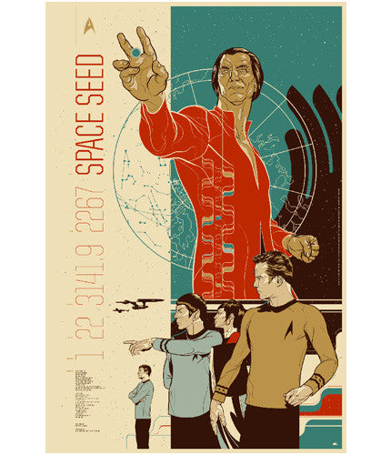 Space Seed Martin Ansin poster