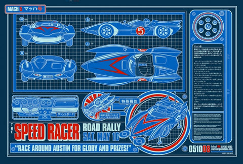 Speed Racer Jesse Philips poster