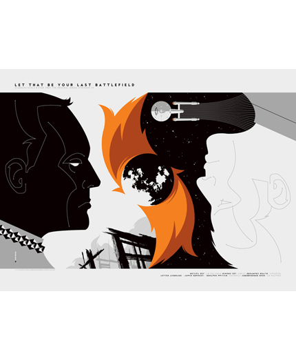Star Trek Let That Be Your Last Battlefield Tom Whalen poster