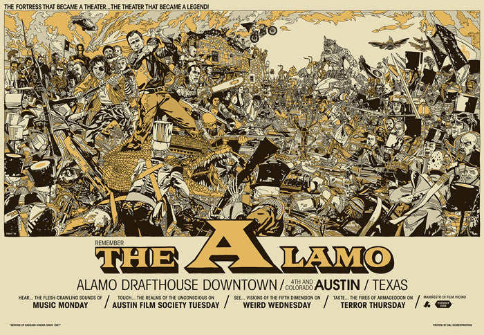 The Alamo Tyler Stout poster
