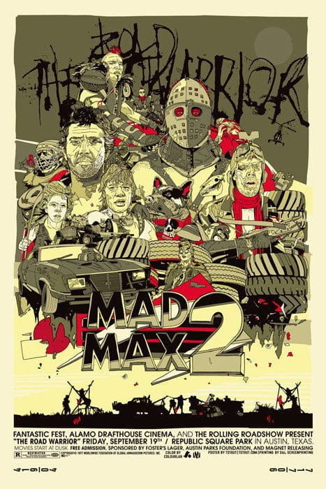 Mad Max 2 Tyler Stout poster