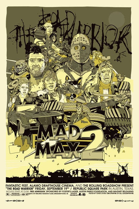 Mad Max 2   Variant Tyler Stout poster