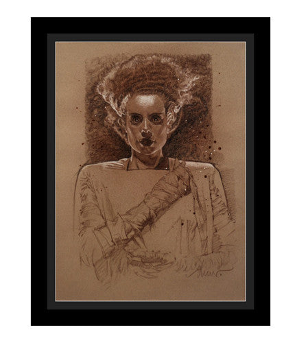 The Bride of Frankenstein Drew Struzan OG