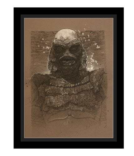 Creature from the Black Lagoon Drew Struzan OG
