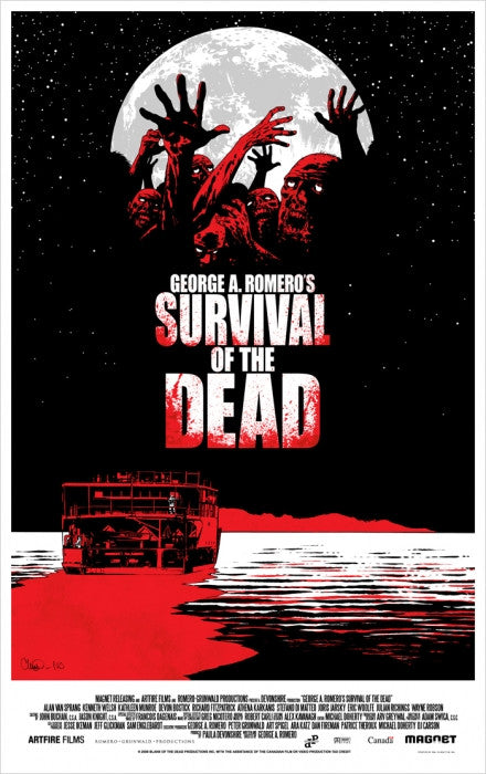 Survival of the Dead Charlie Adlard poster