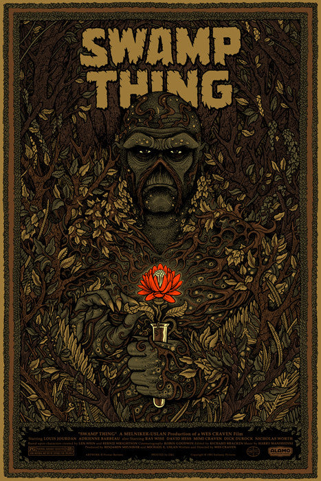 Swamp Thing Variant Florian Bertmer poster