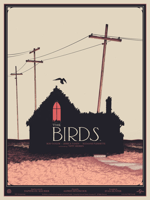 The Birds Connelly Sam Wolfe Connelly poster