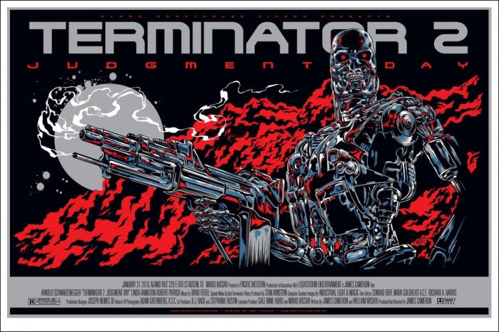Terminator 2 Judgment Day  Variant Ken Taylor poster