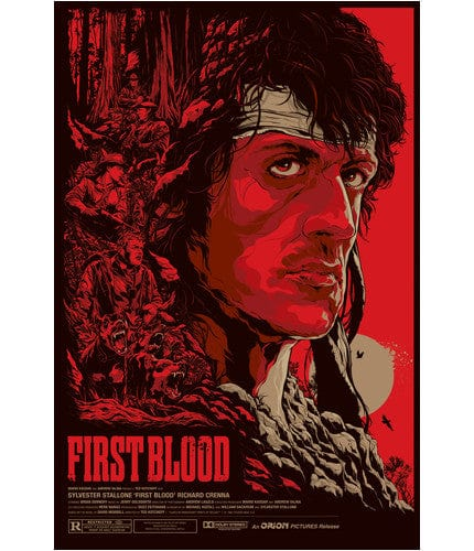 First Blood-Ken Taylor-poster