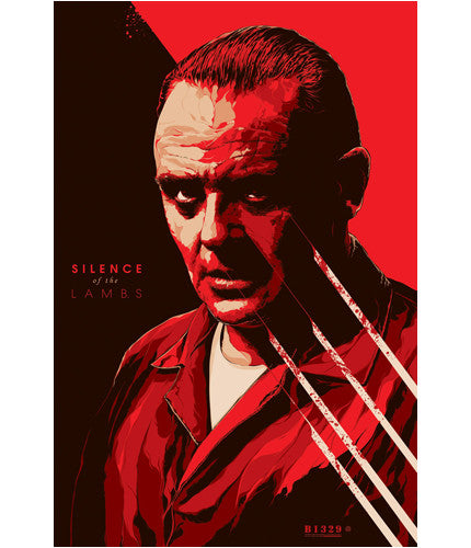 Silence of the Lambs-Ken Taylor-poster