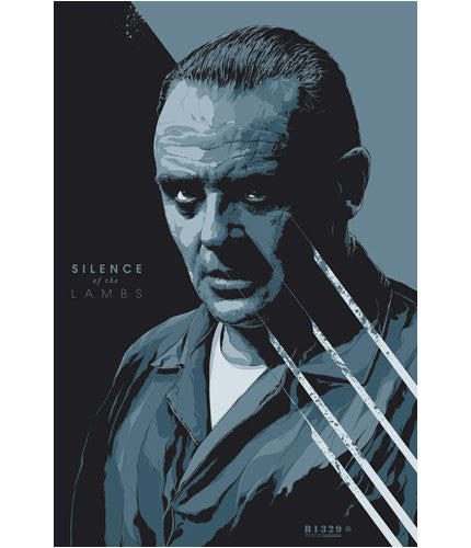 Silence of the Lambs Variant-Ken Taylor-poster