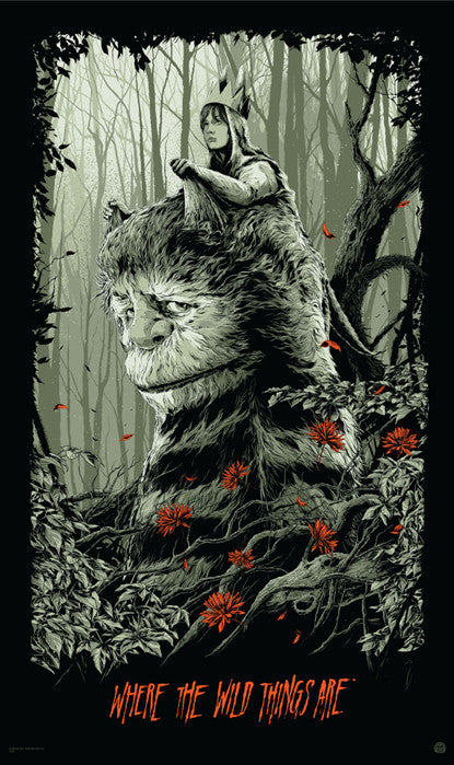 Where the Wild Things Are Ken Taylor poster