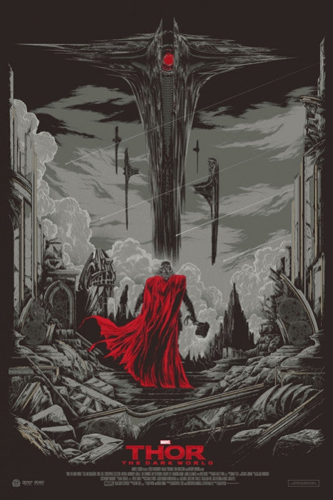 Thor The Dark World Variant Ken Taylor poster
