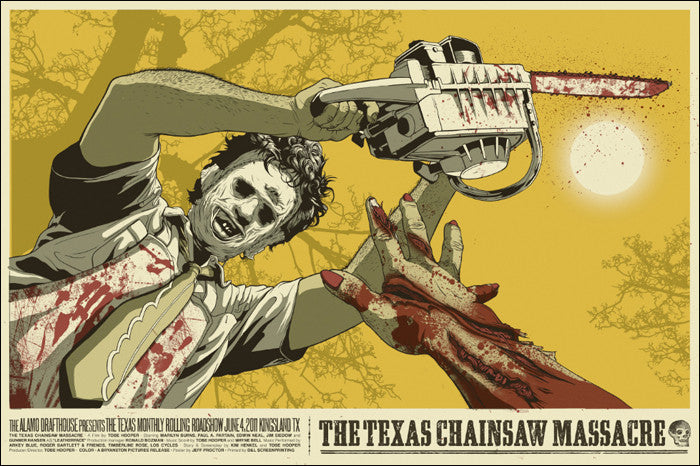 Texas Chainsaw Massacre Jeff Proctor poster
