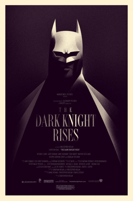 The Dark Knight Rises - Variant-Olly Moss-poster
