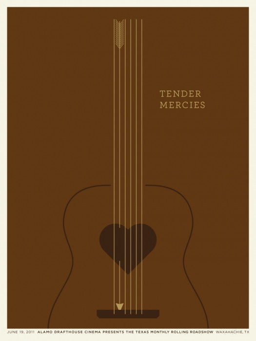 Tender Mercies Jason Munn poster