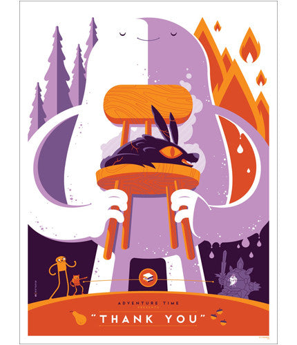 Thank You Tom Whalen poster