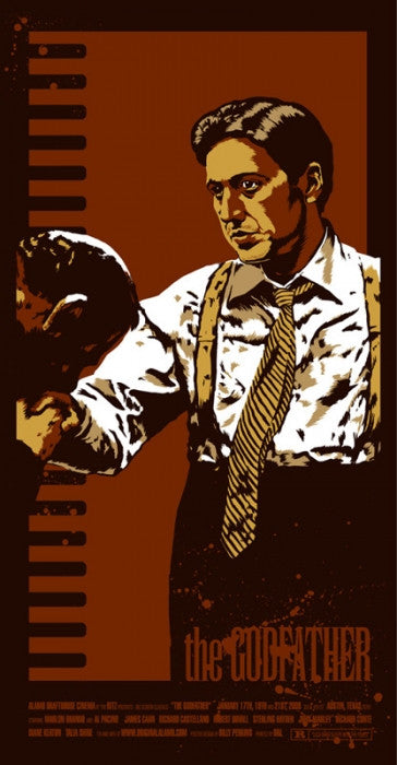 The Godfather Billy Perkins poster