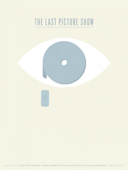 The Last Picture Show Jason Munn poster