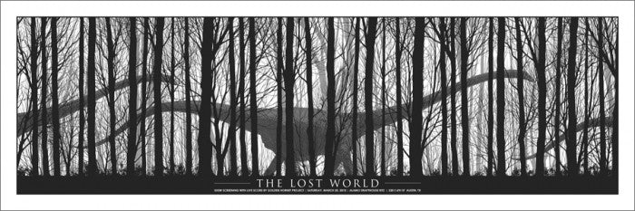 The Lost World Dan McCarthy poster